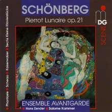Arnold Schönberg (1874-1951): Pierrot Lunaire op.21, CD