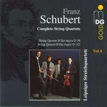Franz Schubert (1797-1828): Sämtliche Streichquartette Vol.6, CD