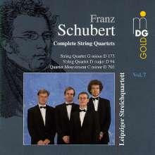 Franz Schubert (1797-1828): Sämtliche Streichquartette Vol.7, CD