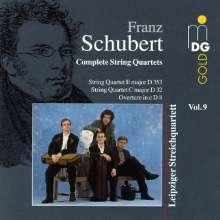 Franz Schubert (1797-1828): Sämtliche Streichquartette Vol.9, CD
