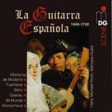 Hans Michael Koch - La Guitarra Espanola, CD