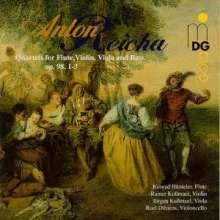 Anton Reicha (1770-1836): Flötenquartette op.98 Nr.1-3, CD