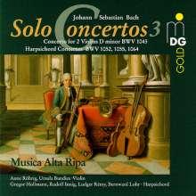 Johann Sebastian Bach (1685-1750): Cembalokonzerte BWV 1052,1055,1064, CD