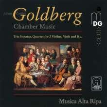 Johann Gottlieb Goldberg (1727-1756): Kammermusik, CD