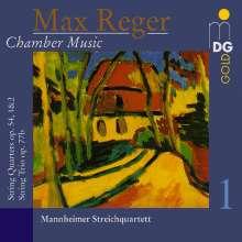 Max Reger (1873-1916): Kammermusik, CD