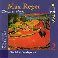 Max Reger (1873-1916): Streichquartett Nr.3 op.74, CD