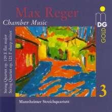 Max Reger (1873-1916): Streichquartette op.109 & op.121, CD