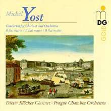 Michel Yost (1754-1786): Klarinettenkonzerte Nr.7-9,11, CD