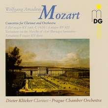 Wolfgang Amadeus Mozart (1756-1791): Klarinettenkonzert in Es KV Anh. C 14.04, CD