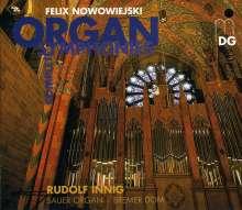 Felix Nowowiejski (1877-1946): Sämtliche Orgelymphonien, 3 CDs