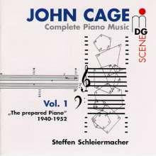 John Cage (1912-1992): Sämtliche Klavierwerke Vol.1, 3 CDs