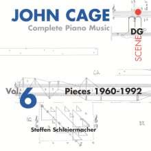 John Cage (1912-1992): Sämtliche Klavierwerke Vol.6, 2 CDs