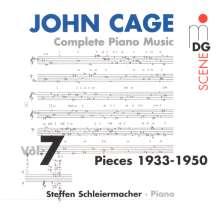 John Cage (1912-1992): Sämtliche Klavierwerke Vol.7, CD