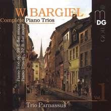 Woldemar Bargiel (1828-1897): Sämtliche Klaviertrios Vol.1, CD