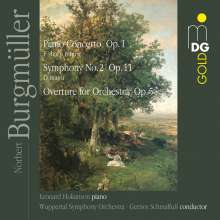 Norbert Burgmüller (1810-1836): Symphonie Nr.2, CD