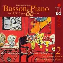Musik für Fagott & Klavier Vol.2, CD