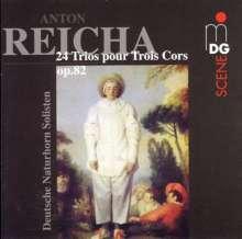 Anton Reicha (1770-1836): 24 Trios für Waldhorn op.82, CD