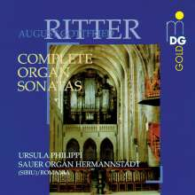 August Gottfried Ritter (1811-1885): Orgelsonaten Nr.1-4 (opp.11,19,23,31), CD