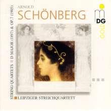 Arnold Schönberg (1874-1951): Streichquartett Nr.1 op.7, CD