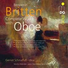 Benjamin Britten (1913-1976): Sämtliche Kammermusik mit Oboe, CD