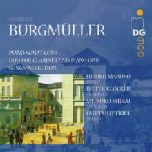 Norbert Burgmüller (1810-1836): Duo op.15 für Klarinette & Klavier, CD