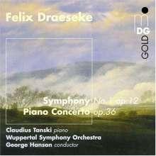 Felix Draeseke (1835-1913): Symphonie Nr.1 op.12, CD