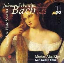 Johann Sebastian Bach (1685-1750): Sonaten & Partita f.Traversflöte Vol.2, CD