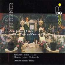 Hans Pfitzner (1869-1949): Klaviertrio op.8, CD