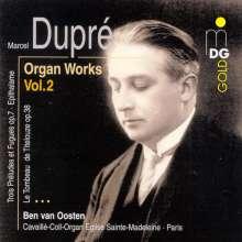 Marcel Dupre (1886-1971): Orgelwerke Vol.2, CD