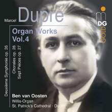 Marcel Dupre (1886-1971): Orgelwerke Vol.4, CD