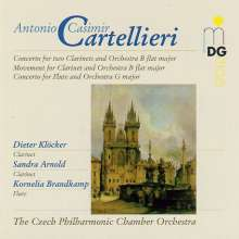 Antonio Casimir Cartellieri (1772-1807): Konzert für 2 Klarinetten & Orchester in B, CD