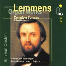 Nicolas-Jacques Lemmens (1823-1881): Orgelwerke, CD