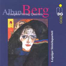 Alban Berg (1885-1935): Lyrische Suite, CD