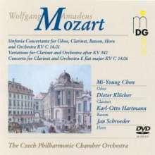 Wolfgang Amadeus Mozart (1756-1791): Klarinettenkonzert in Es KV Anh.C 14.06, DVD-Audio