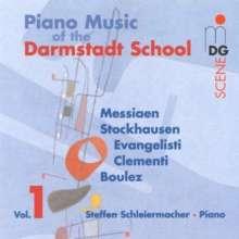 Steffen Schleiermacher - Darmstädter Schule 1, CD