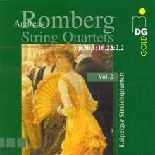 Andreas Romberg (1767-1821): Streichquartette Vol.2, CD