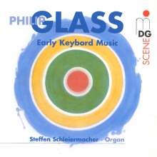 Philip Glass (geb. 1937): Orgelwerke, CD
