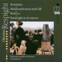 Ottorino Respighi (1879-1936): Metamorphoseon Modi XII, Super Audio CD