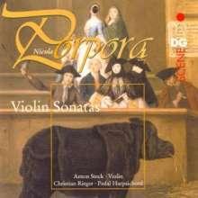 Nicola Antonio Porpora (1686-1768): Sonaten für Violine & Bc op.12 Nr.2,4,5,8,11,12, CD