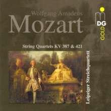 Wolfgang Amadeus Mozart (1756-1791): Streichquartette Nr.14 & 15, CD