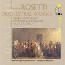 Antonio Rosetti (1750-1792): Symphonien Murray A21,A14 (Kaul I Nr.20 & 29), CD