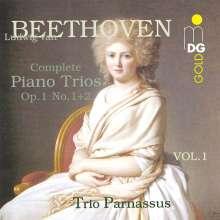 Ludwig van Beethoven (1770-1827): Klaviertrios Vol.1, CD
