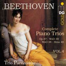 Ludwig van Beethoven (1770-1827): Klaviertrios Vol.4, CD