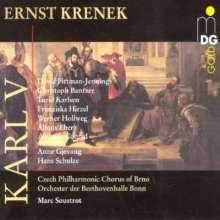 Ernst Krenek (1900-1991): Karl V., 2 CDs