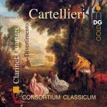 Antonio Casimir Cartellieri (1772-1807): Klarinettenquartette Nr.3 & in D, CD