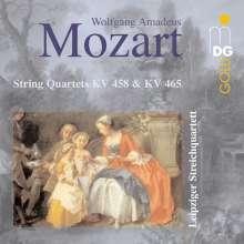Wolfgang Amadeus Mozart (1756-1791): Streichquartette Nr.17 & 19, CD