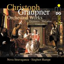 Christoph Graupner (1683-1760): Orchesterwerke Vol.1, CD