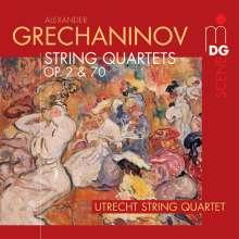 Alexander Gretschaninoff (1864-1956): Streichquartette Nr.1 & 2 (opp.2 & 70), CD