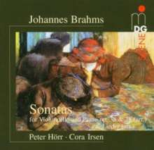 Johannes Brahms (1833-1897): Cellosonaten Nr.1 & 2, CD