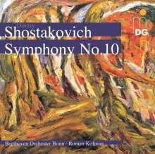 Dimitri Schostakowitsch (1906-1975): Symphonie Nr.10, CD